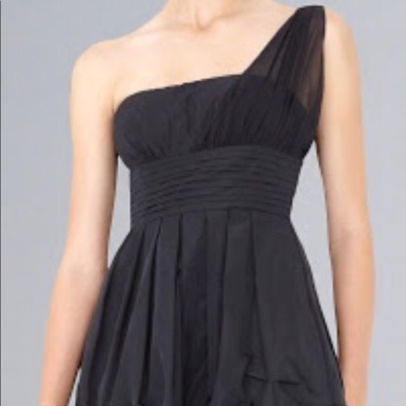 7a0f4a3a8 BCBGMaxAzria Dresses | Black One Shoulder Cocktail Dress | Poshmark